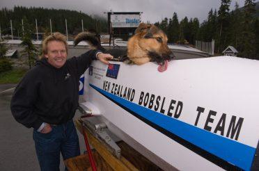 Martin White – NZ bobsled king